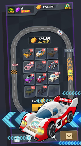 Merge Sports Cars screenshot 1