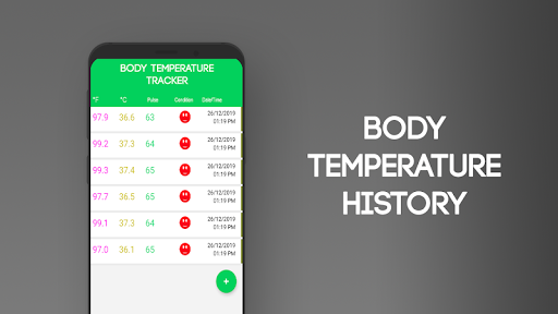 Body Temperature App screenshot 1