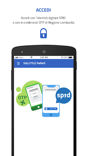 SALUTILE Referti screenshot 1