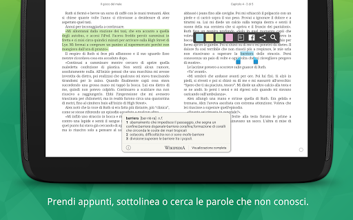 La Feltrinelli Kobo screenshot 9