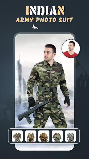 Indian Army Photo Suit screenshot 2