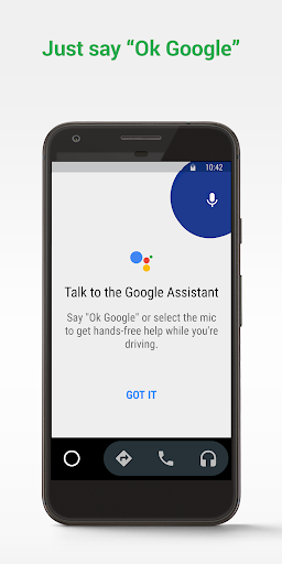 Android Auto for phone screens screenshot 1