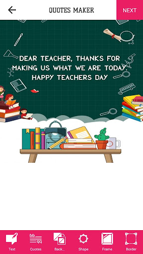 Teachers Day Wishes,Status,Photo Frame & DP Maker screenshot 2