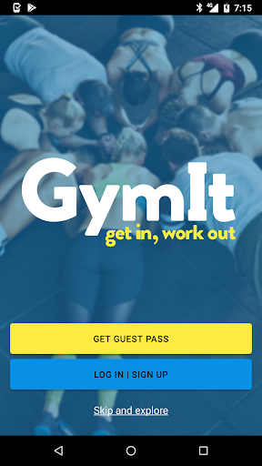 GymIt screenshot 1