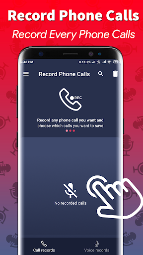 Call Recording & Phone Recoder screenshot 1