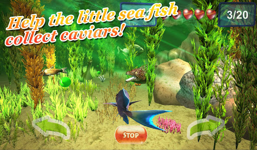 Underwater world. Adventure 3D screenshot 2