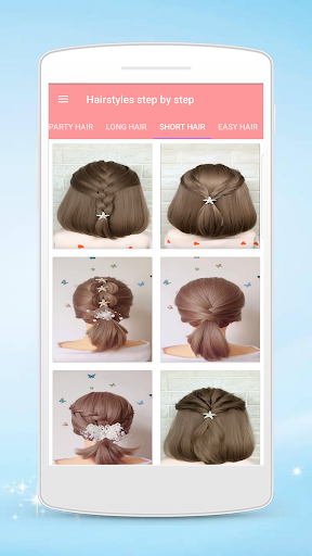 Hairstyles step by step for girls screenshot 2