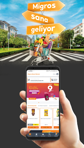 Migros Sanal Market screenshot 1