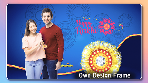 Rakhi Photo Frame 2020 captura de pantalla 12