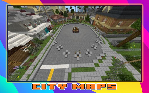 New City Maps for minecraft screenshot 2