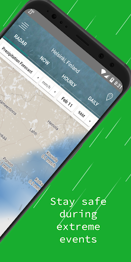 Weather Radar — Live Maps & Alerts screenshot 2