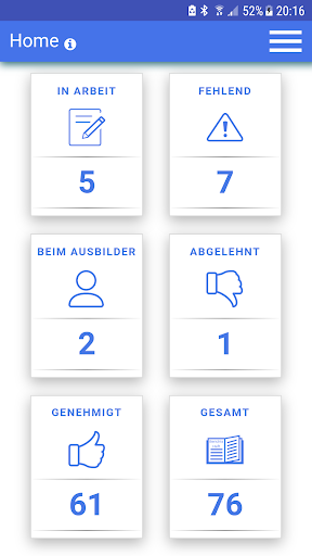 Azubiheft APP screenshot 2