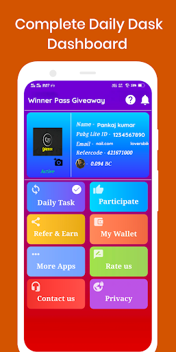 Free Winner Pass™and BC Lite Every Season 屏幕截图 2
