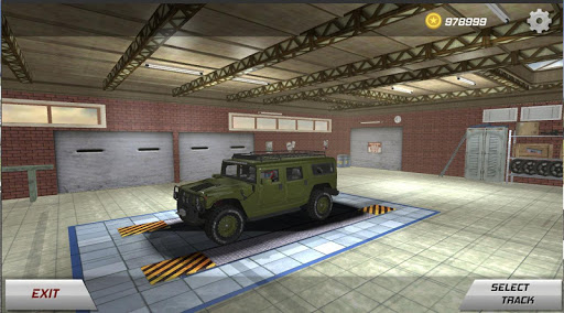 Hummer H1 Car Race Drift Simulator screenshot 1