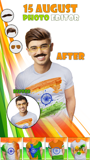 Indian Flag15 Aug Photo Editor screenshot 2
