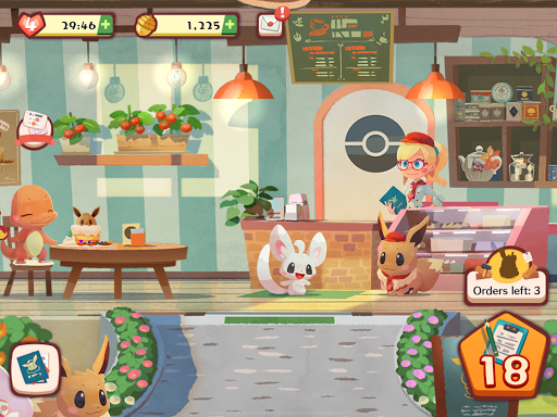 Pokémon Café Mix screenshot 15
