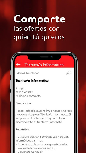 Adecco España screenshot 6