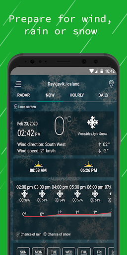Weather Radar — Live Maps & Alerts screenshot 3