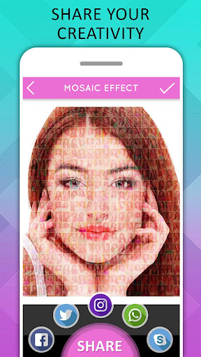 Mosaic Photo Effects screenshot 5