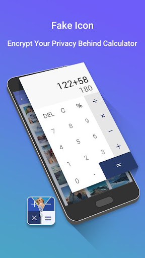 Calculator Vault Lock screenshot 1