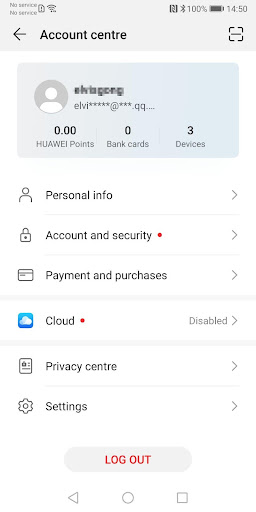 Huawei Mobile Services screenshot 2