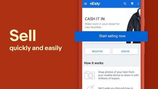Official eBay Android App screenshot 3
