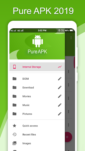 PureAPK File Manager screenshot 1