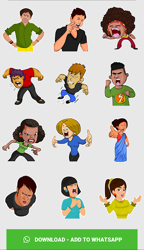 Stickers For WhatsApp ( WAStickerApps ) screenshot 7