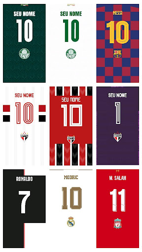 Wallpaper Camisas Futebol screenshot 3