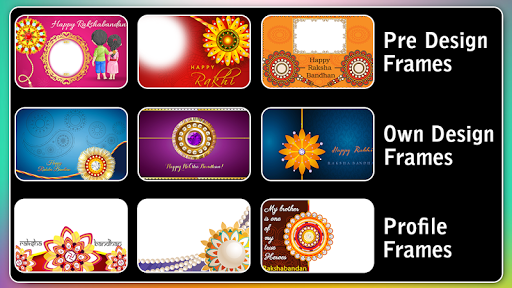 Rakhi Photo Frame 2020 captura de pantalla 9