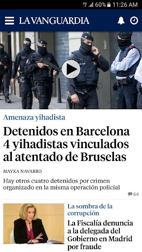 La Vanguardia screenshot 1