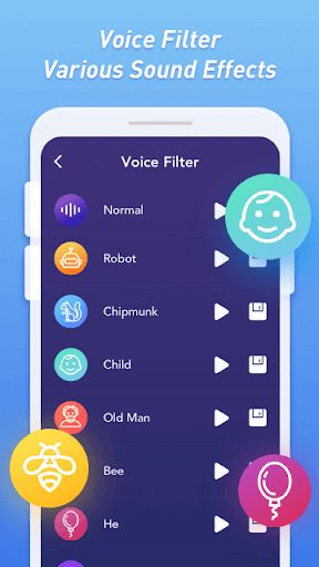 Funny Voice Changer & Sound Effects screenshot 2
