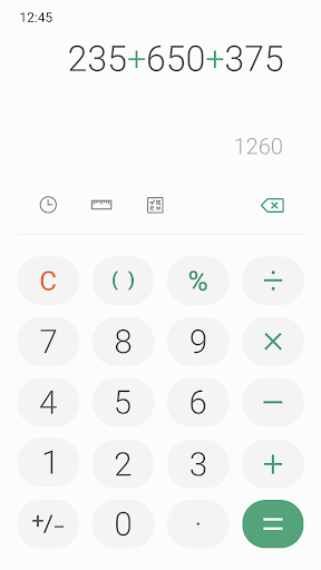 Samsung Calculator screenshot 4