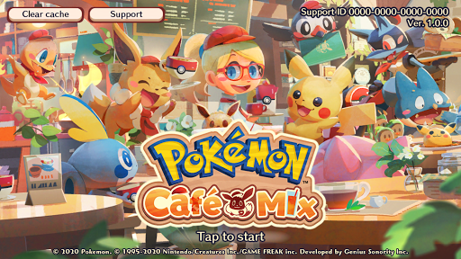 Pokémon Café Mix screenshot 1