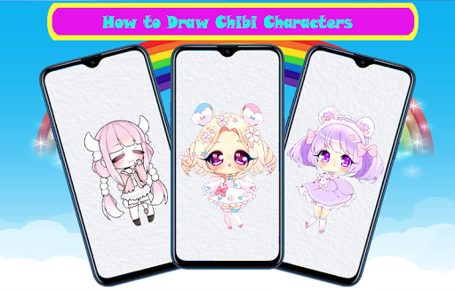 How To Draw Chibi Characters Step By Step screenshot 3