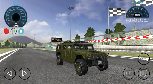 Hummer H1 Car Race Drift Simulator screenshot 2