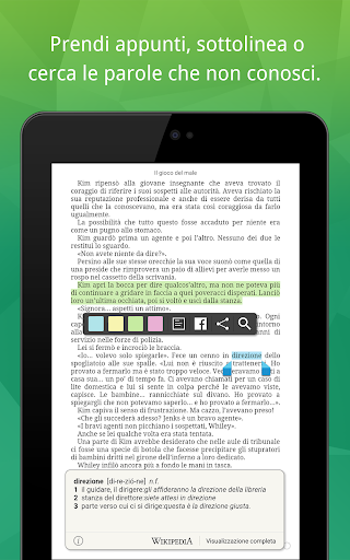 La Feltrinelli Kobo screenshot 11