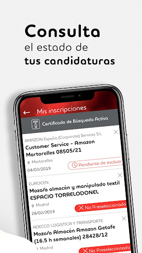 Adecco España screenshot 3