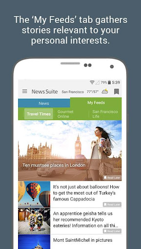 News Suite by Sony screenshot 3