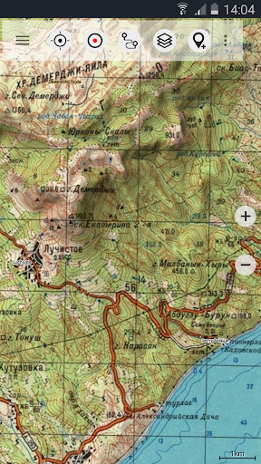 Soviet Military Maps Free screenshot 2