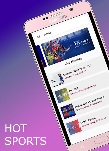 Hot sports | Live Ipl HD matches screenshot 2
