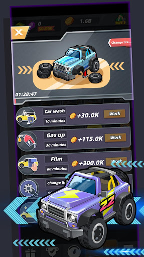 Merge Sports Cars screenshot 2