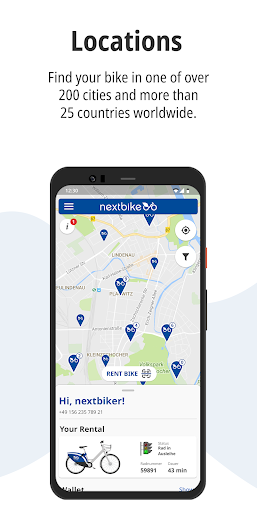 nextbike screenshot 2