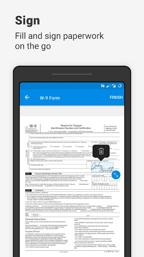 SignEasy | Sign and Fill PDF and other Documents screenshot 1