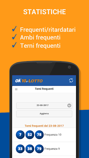 Estrazioni 10 e Lotto screenshot 2