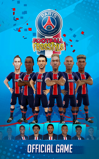 PSG Soccer Freestyle screenshot 1