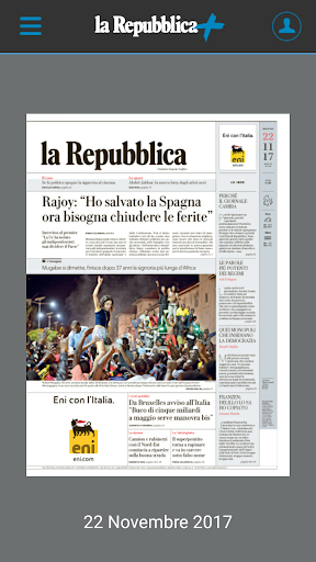 la Repubblica + per smartphone screenshot 1