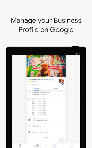 Google My Business screenshot 11