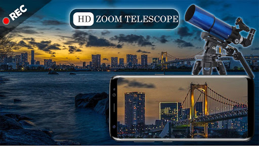 Mega Zoom Telescope HD Camera screenshot 4