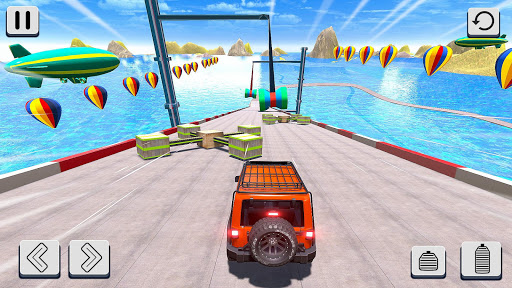 Mega Ramp Car Racing Stunts 3D screenshot 7